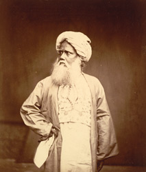 Portrait of an unidentified man, Eastern Bengal. 29